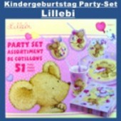 Kindergeburtstag Party-Set, Lillebi (KiGebu PS Ev 550577)