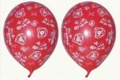 """Luftballons """"Rosen"""" 100 Stück  (LRMM 100 E 52 328)"""