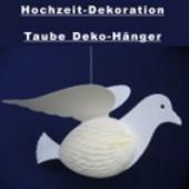 Hochzeit Dekoration Taube (Hänger 35 cm) (PT 12.67331)