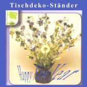 Silvester-Tischdekoration, Tischständer Happy New Year (Silvesterdeko 03 119701)