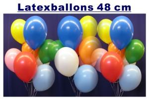 Luftballons zu Hochzeiten in 48 cm