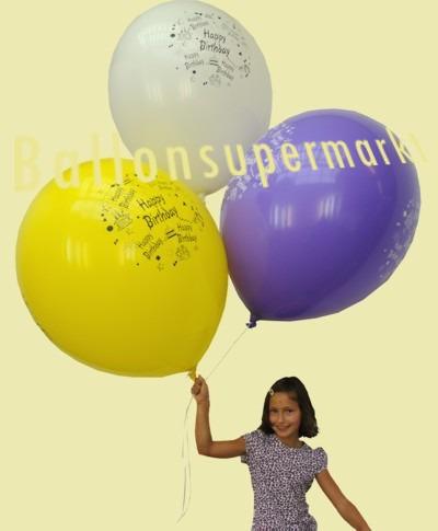 Riesenballons zur Kindergeburtstagsdekoration