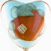 Elliot Buttons Love (heliumgefüllt) (FHGE 1313602 D)