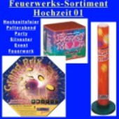 Feuerwerk, Hochzeit-Sortiment 1, Event-Feuerwerk, Hochzeitsfeier (Feuerwerk Sortiment, Hochzeit 01)