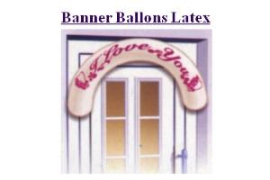 Banner Ballons - Banner Ballons