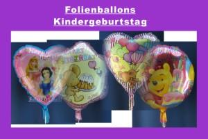 Kindergeburtstag Folienballons - Kindergeburtstag Folienballons