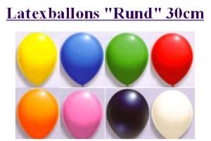 Latexballons 30cm - Latexballons 30cm