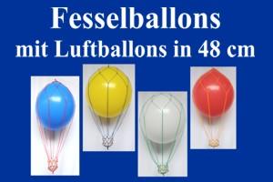 Fesselballons-mit-48-cm-Luftballons - Fesselballons-mit-48-cm-Luftballons