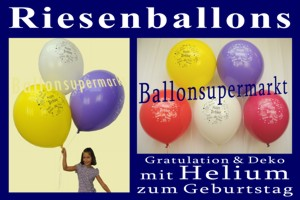 Riesenballons-Geburtstag-Happy-Birthday - Riesenballons-Geburtstag-Happy-Birthday