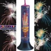 Feuerwerk, 8 Römische Lichter, Lichterorgel, Roma (Feuerwerk Roma 99217)