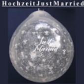 Hochzeit, Just Married, Geschenkballons, Stuffer (Geschenkballons Hochzeit 02)