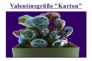 Valentinsgrüße im Karton - Valentinsgrüße im Karton