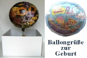 "Folienballons ""Geburt"" - Folienballons ""Geburt"""