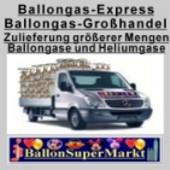 Ballongas im Ballonsupermarkt-Onlineshop, der Balongashandel