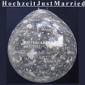 Hochzeit, Just Married 2, Geschenkballons, Stuffer (Geschenkballons Hochzeit 03)