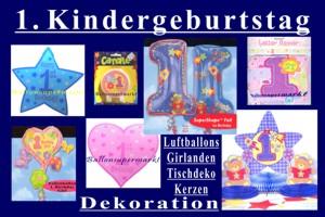 1. Kindergeburtstag - 1. Kindergeburtstag