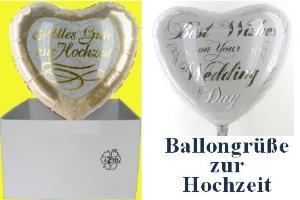 "Folienballons ""Hochzeit"" - Folienballons ""Hochzeit"""