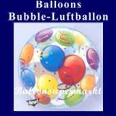 Balloons, Bubble Luftballon (mit Helium) (FHGE-KAE 15606-22)