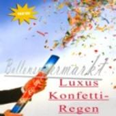 Konfettiregen-Luxus-Konfetti-Kanone  (Konfetti_Regen MS Happy Birthday)