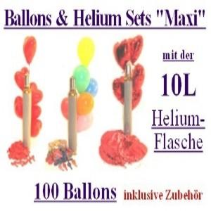 Ballonsupermarkt-Onlineshop: Luftballons Helium in Sets