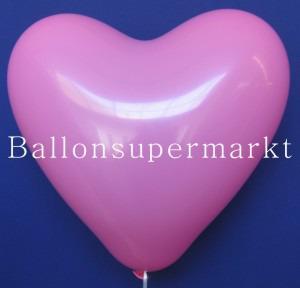 Luftballons Herzen Rosa
