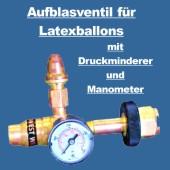 Ballongas Auffülventil für Latexballons (BGV-Lat-BAs-4902)