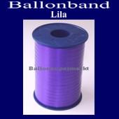 Ballonband, Luftballonbänder 1 Rolle 500 m, Lila (Ballonband-Lila-Rolle-Bb-Li-01)