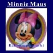 Luftballon Minnie Mouse, Folienballon mit Ballongas (FHGE202)