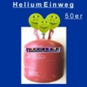Ballongas Einweg, Helium Einweg