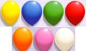Luftballons 25cm Ø / Bunt gemischt 5000 Stück (LRSt B25/5000)