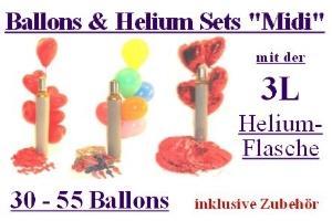"Ballons & Helium Sets ""Midi"" - Ballons & Helium Sets ""Midi"""