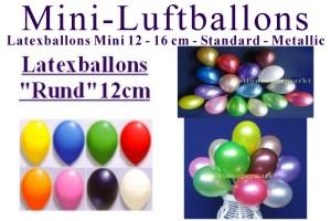 Latexballons 12cm - Latexballons 12cm