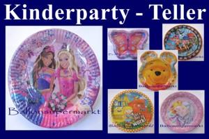 Kinder-Party-Teller - Kinder-Party-Teller