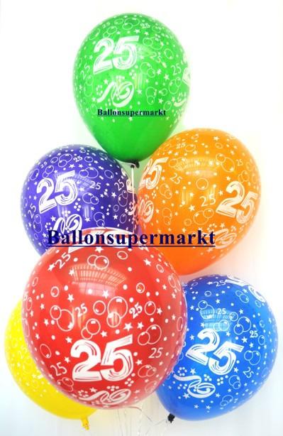 Luftballons 25 Jahre