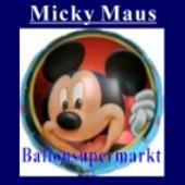 Luftballon Mickey Mouse, Folienballon mit Ballongas (FHGE201)