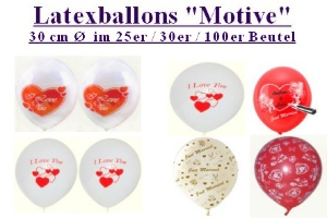 Ballons mit Motiven