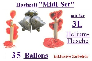 """Hochzeit"" Midi-Sets / 30er - ""Hochzeit"" Midi-Sets / 30er"