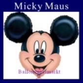 Luftballon Mickey Mouse, Folienballon mit Ballongas (FHGE97)