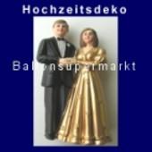 Hochzeitspaar, Hochzeitsdeko, Goldene Hochzeit 01 (Hochzeitsdeko-03)