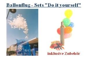 Ballonflug, Luftballons steigen lassen, Ballonflug-Wettbewerb, Luftballons aufsteigen lassen: Selber machen