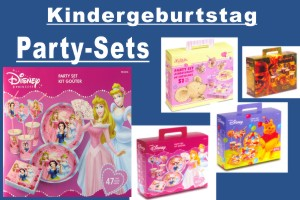 Kindergeburtstag Party-Sets - Kindergeburtstag Party-Sets