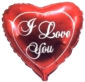 I Love You Herz Groß (heliumgefüllt) (FHGE H01/184)