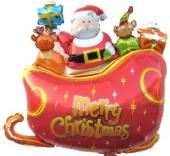 Santa Sledge (heliumgefüllt) (FHGE SSl/01)