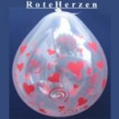 Rote Herzen, Liebe, Hochzeit, Geschenkballons, Stuffer (Geschenkballons Rote Herzen 01)