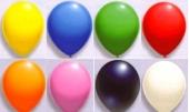 Luftballons, Latex 30cm Ø, 100 Stück / Bunt (LRSt B30/100)