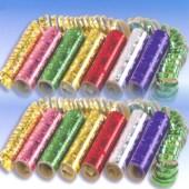Luftschlangen Metallic-Folie - Luftschlangen Metallic-Folie