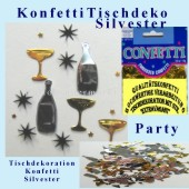 Tischdekoration Silvester Konfetti (Silvester Konfetti 03 368836)