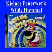 Kleines Silvester-Feuerwerk, Wilde Hummel (Silvester NI 4407)