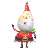 Ho, Ho, Weihnachtsmann mit Helium (FHGE weihnachtsmann-luftballon-13015)