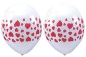 """Luftballons """"Herzen"""" 100 Stück  (LRMM 100 E 52 311)"""